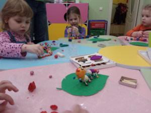 лепка в детском центре