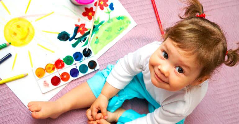 Почему рисование важно для развития вашего ребенка