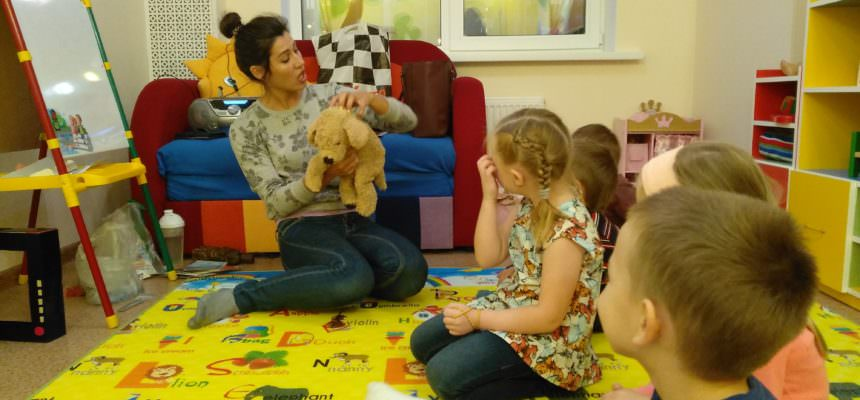 Английский язык, Развивающие занятия, Подготовка к школе, Мама и малыш!