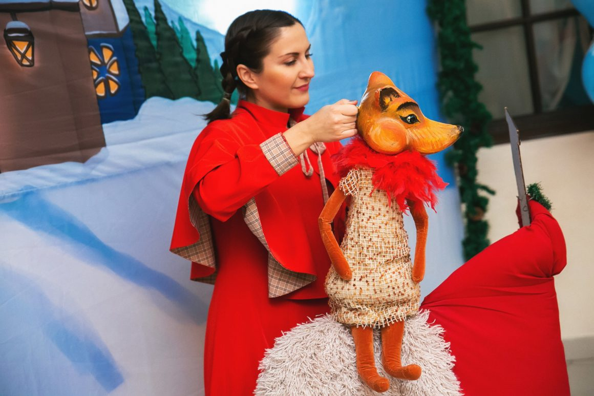 Спектакль «Рукавичка Деда Мороза» 22 декабря