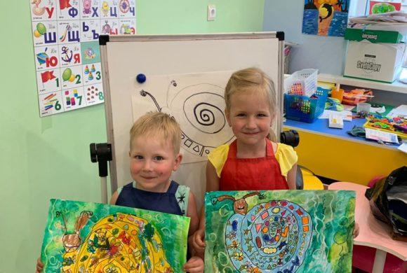 Мы любим рисовать!